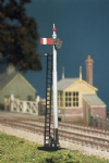 467 Ratio: ADVANCED CONSTRUCTION SIGNAL KITS  GWR Round Post (2 Single Post Signals)
